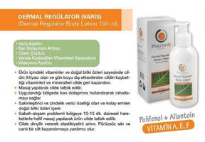 Dermal Regülator Varis Kremi 150 Ml.